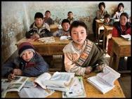 Tibetische Schulkinder (Foto: Phayul)