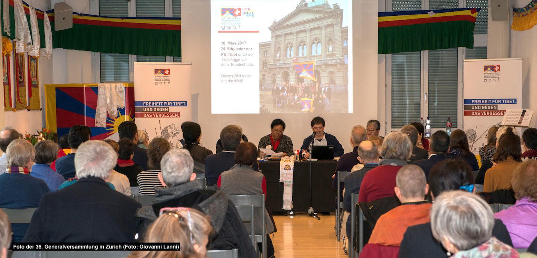 Bild der 36. GSTF-Generalversammlung in Zürich