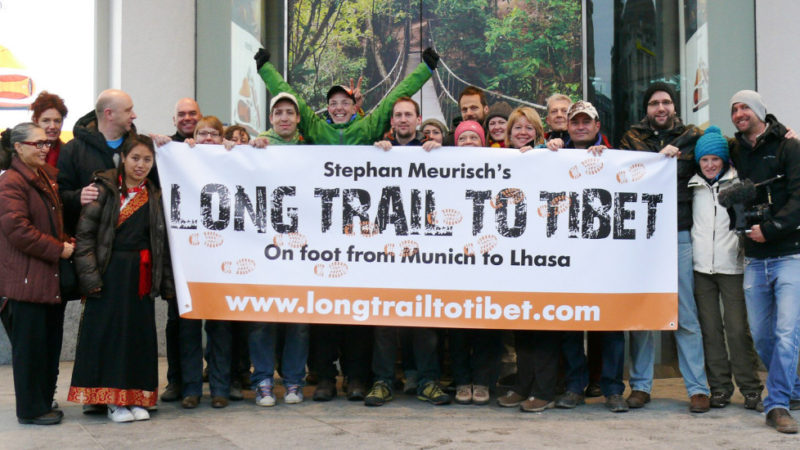 Bild Long trail to Tibet_explora