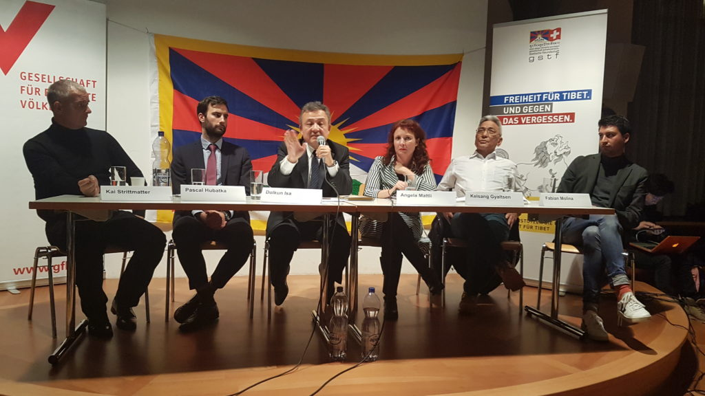 Podium zu «Tibeter und Uiguren in China und im Exil»
