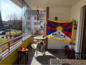 Balcon drapeau